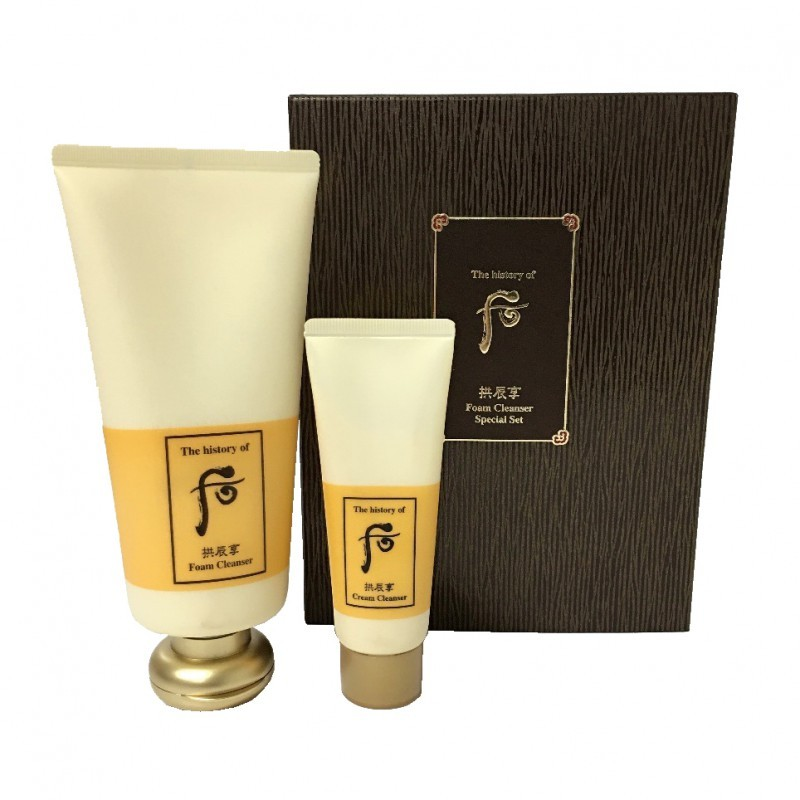 The History of Whoo Gongjinhyang Foam Cleanser Set / 后拱辰享泡沫潔面套裝
